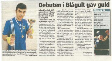 BKTiger Artikel-20100408-2-SAHANDS_LANDSLAGSDEBUT_VLT